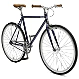 Critical Cycles Harper Fixed Gear Urban Commuter Pacific Blue Single Speed Bike