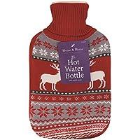 Festive–Borsa dell' acqua calda con rivestimento in maglia 2L Pat