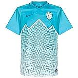 Nike Selección de Fútbol de Eslovenia 2015/2016 - Camiseta Oficial, Talla L