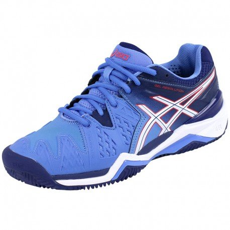Asics Gel Resolution 6 E553Y4701, Tennis - 39.5 EU (Damen Gel Asics Resolution)