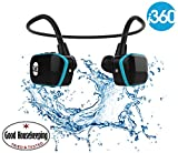i360 Swimming MP3 Player Underwater Waterproof to 3 Meters - Wireless Earphones Headphones
