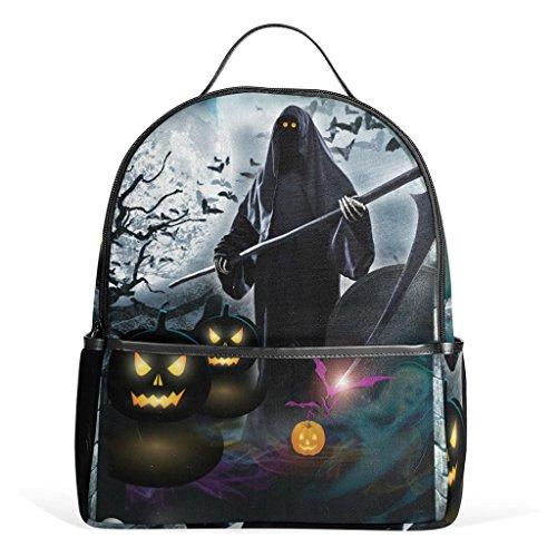 ruckte Doppel-Umhängetasche / multifunktionale Tasche / Reisetasche, Halloween-Geschenk, perfektes Geschenk für Kinder in die Schule zu gehen (Halloween Taschen Für Die Arbeit)