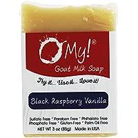 ¡O mi! - Mini O! s cabra leche jabón Black Raspberry Vanilla - 3 oz.