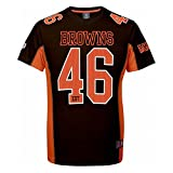Majestic NFL Mesh Polyester Jersey Shirt - Cleveland Browns XX-Large Brown