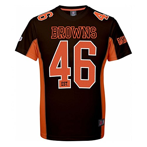 Majestic NFL Mesh Polyester Jersey Shirt - Cleveland Browns L Brown
