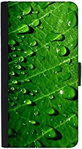 Snoogg Dew Dropsdesigner Protective Flip Case Cover For Htc Desire 816