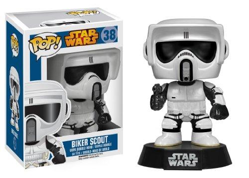 Funko: Star Wars: Biker Scout Figura in vinile