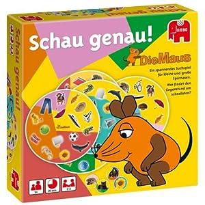Jumbo 12717 Die Maus, Schau genau! - Juego Infantil Importado de Alemania