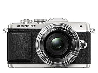 Olympus PEN E-PL7 Interchangeable Lens Camera (16.1 MP, M.Zuiko Digital ED 14-42 mm 1:3.5-5.6 EZ Pancake Lens, 3.0 inch Touchscreen LCD) - Silver (B00MVOURPQ) | Amazon price tracker / tracking, Amazon price history charts, Amazon price watches, Amazon price drop alerts