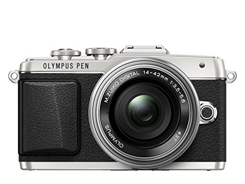 OLYMPUS E-PL7 1442EZ PANCAKE - CAMARA EVIL DE 16 1 MP (PANTALLA 3  ESTABILIZADOR  VIDEO FULL HD  WIFI)  COLOR PLATEADO - KIT CUERPO CAMARA CON OBJETIVO 14-42 MM ELECTRONICO MOTORIZADO