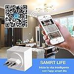 Presa-Alexa-Aunics-Presa-Smart-Italiana-2-Pezzi-Compatibile-con-Alexa-Amazon-Google-Home-IFTTT-Presa-Intelligente-Controllo-Energia-Spina-Wi-Fi-App-Smart-Life-Smart-plug-per-Casa-No-Adattatore