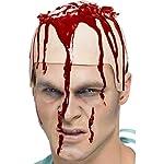 NET TOYS Halloween Blut Gel Professionelles Kunstblut 30 ml Flasche Horror Theaterblut Blutgel Make Up Flüssige…