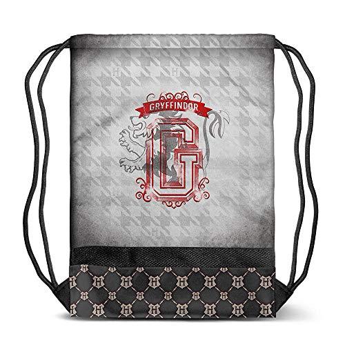 Karactermania Harry Potter Emblem Gryffindor-Storm Turnbeutel Sacca, 48 cm, Grigio (Grey)