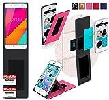 reboon Hülle für HiSense A1 Tasche Cover Case Bumper | Pink | Testsieger