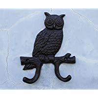 Retro Hook/Coat Hook/Mother-Child Owl Hooks-C