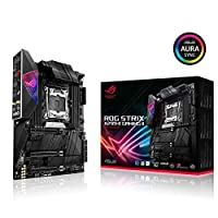 ASUS ROG Strix X299-E Gaming II ATX Gaming Motherboard (Intel X299) LGA 2066, Wi-Fi 6 (802.11ax), 2.5 GBS LAN, 8X DIMM Max. 256GB, USB 3.2 Gen 2, 8X SATA, 3X M.2, OLED and Aura Sync RGB
