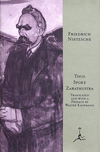 Thus Spoke Zarathustra (Modern Library)