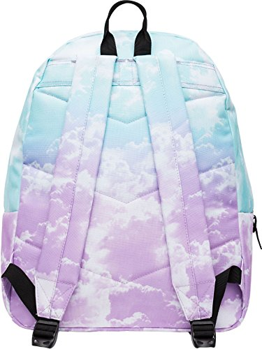 Hype Backpack Bag - Pastel Clouds Pom Pom Rucksack - Bags & Backpacks For Boys and Girls Women and Men - Pastel Clouds Pom Pom - fashion-backpacks