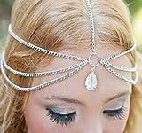 cosanter Multilayer Collares joyas asunto cinta con Artificial Cadena de piedras preciosas joyas accesorios de oro