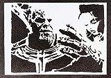 Póster Thanos Grafiti Hecho A Mano - Handmade Street Art - Artwork