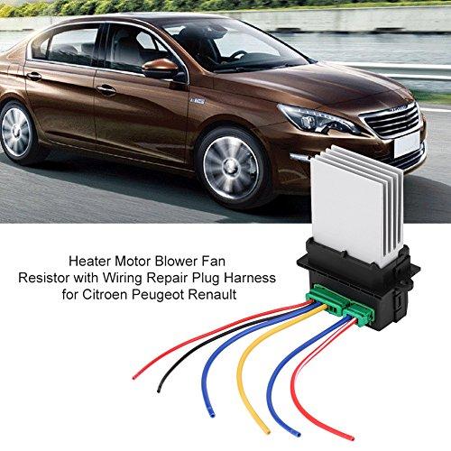 Resistencia motor ventilador calentador