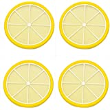 Little Kitchen Round Non-Slip Durable Heat Resistant Silicone Dining Table Place Mat, Table Mat, Trivet Mat, Jar Opener, Spoon Rest - Home Accessories Kitchen Accessories Dinning Table Accessories -