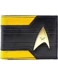Star Trek Starship Enterprise Command Logo Yellow ID & Card Bi-Fold Wallet