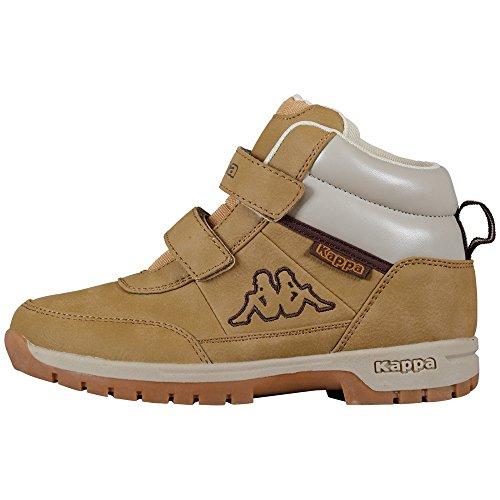 Kappa BRIGHT Unisex-Kinder Hohe Sneakers, Beige (Beige 4141), 29 EU