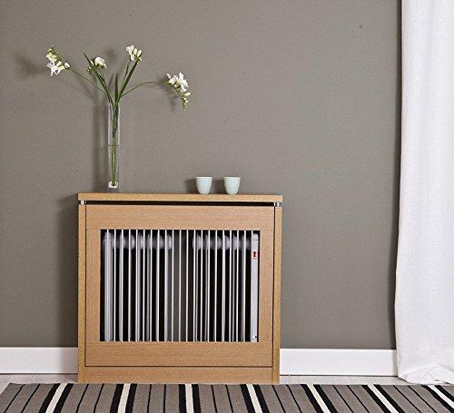 Intradisa 3090 - Cubre radiador, 90 cm de Ancho Roble