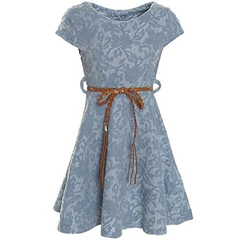 BEZLIT Kinder Mädchen Kleid Peticoat Fest Freizeit Sommer-Kleider Kostüm 21228,