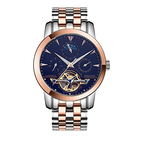 automatic mechanical watches/hollow waterproof watch/business casual watches-d