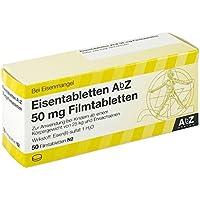 EISENTABLETTEN AbZ 50 mg Filmtabletten 50 St Filmtabletten preisvergleich bei billige-tabletten.eu