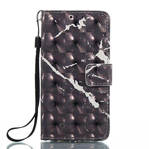 Marmor Stein Grain Texure Pattern PU Ledertasche Cover, Retro Bookstyle Flip Stand Case mit Magnetverschluss & Card Slots & Lanyard für Samsung Galaxy A310 (A3 2016) ( Color : F ) B