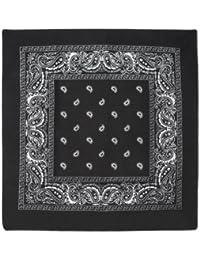 Beistle 60753-BK Bandana, 22-Inch by 22-Inch, Black
