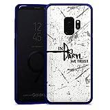 DeinDesign Samsung Galaxy S9 Slim Case transparent blau Silikon Hülle Schutzhülle The Walking Dead Filme und Serien Daryl Dixon