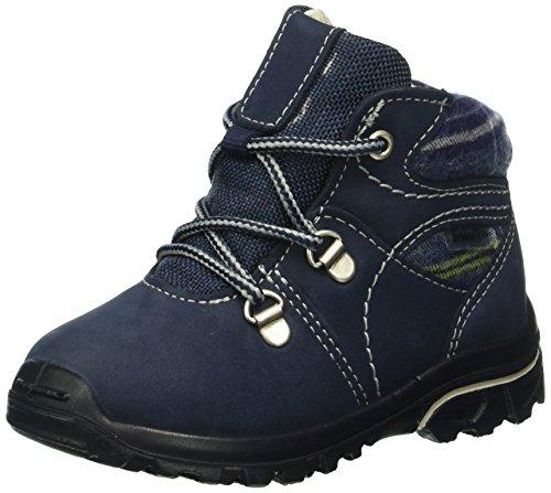 Ricosta Dasse, Chaussures à Lacets Garçon Bleu - Blau (nautic/ozean 175)