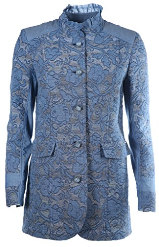 Airfield Damen Mantel Balance Longjacket Blau