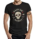 GASOLINE BANDIT Biker T-Shirt: Riders from Hell-XXL