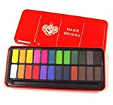 Major Brushes Watercolour Block Tin Set of 24 Colours by Major Brushes