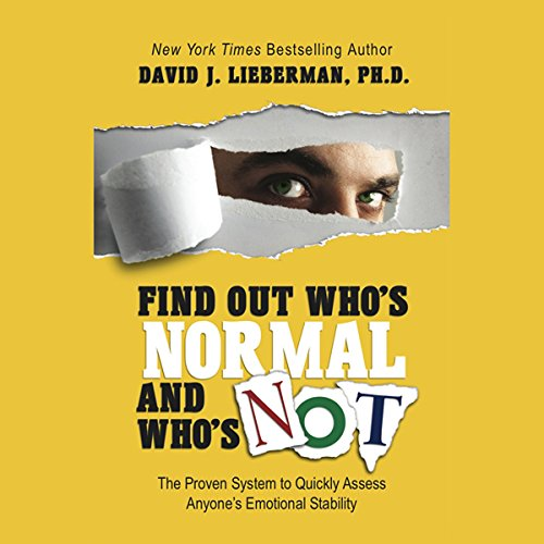 Find Out Who's Normal and Who's Not  Audiolibri