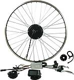 """Prystel 28PT - Kit para bicicleta eléctrica de 28"""" (rueda trasera, 36V/250W) color negro"""