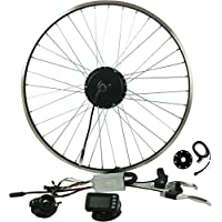 "Prystel 26PD - Kit para Bicicleta Eléctrica DE 26"" (Rueda Delantera, 36V/250W) Color Negro"