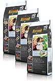 Belcando Hunde Trockenfutter - Junior Getreidefrei mit Geflügel - Set 3X 1kg Hundefutter für Junge Hunde - leichtverdaulich und Premiumqualität