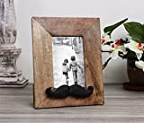 Store Indya Mustache Style Wooden Single...