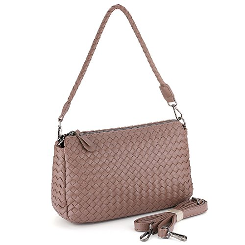 SSMK  Handbag, Damen Schultertasche Khaki
