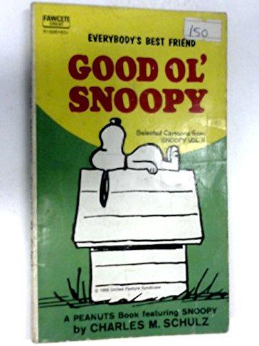 Everybody's Best Friend Snoopy