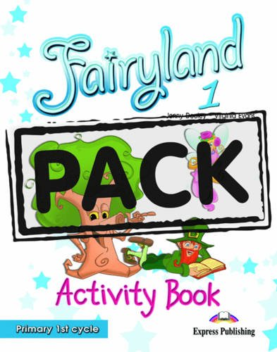 Fairyland 1 Activity Pack Primary 1st Cycle with ieBook