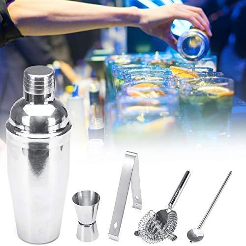 ChaRLes Edelstahl Cocktail Shaker Mixer Drink Bartender Martini Werkzeuge Bar Set Kit Barware Cocktail-shaker