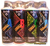 GroTech Corall A,B,C + ReefClear 500ml Set