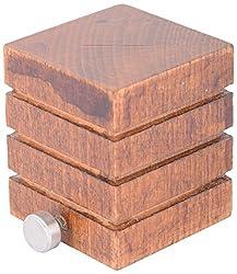 Aavishkar Decors Wooden Curtain Knob - Brown